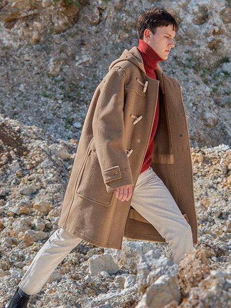 Популярный дафлкот Gloverall и стиль casual