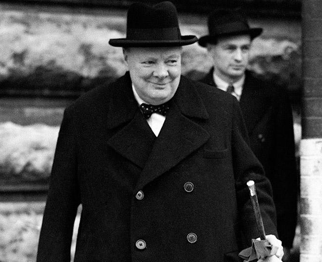 Черчилль в бушлате
