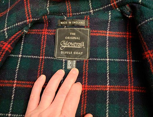 Подкладка для дафлкота из шерсти